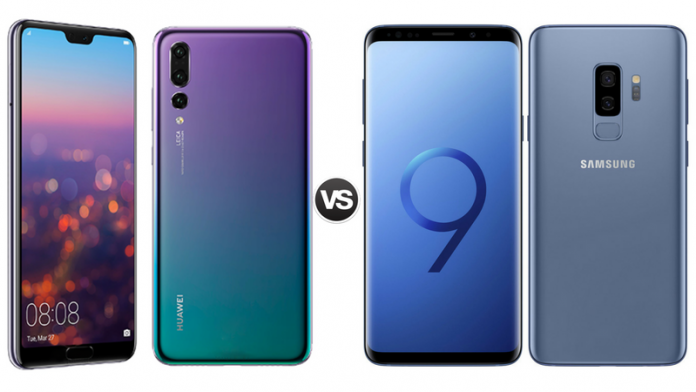 Huawei p20 pro vs samsung s9 plus fotos
