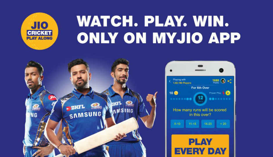 Jio Cricket Play-Along