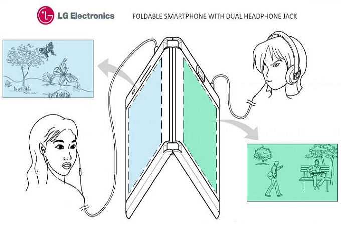 LGs-patent-for-a-foldable-phone-shows-device-has-two-screens-batteries-and-headphone-jacks