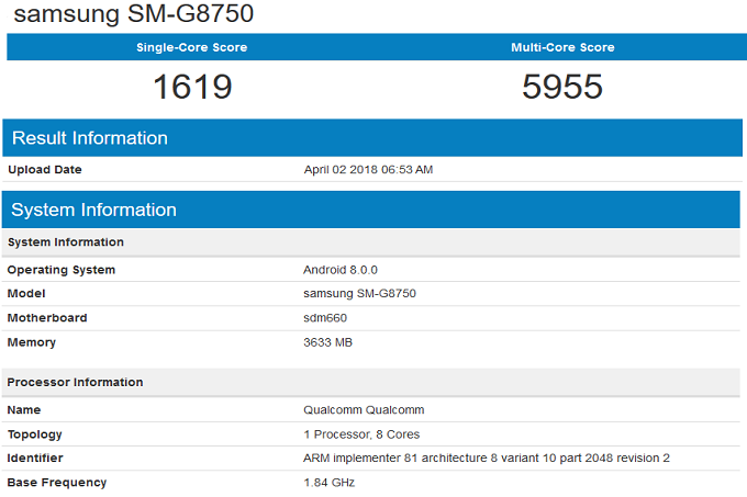 Samsung-Galaxy-S9-mini-surfaces-in-benchmark-test-with-SD-660-4GB-of-RAM-and-Android-Oreo