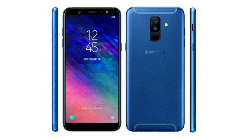 Samsung Galaxy A6+ live images: 6-inch display, dual rear cameras, more