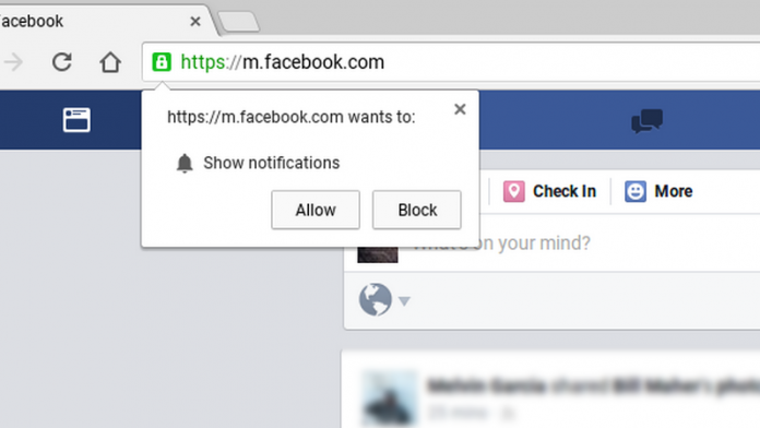 Google Chrome notifications