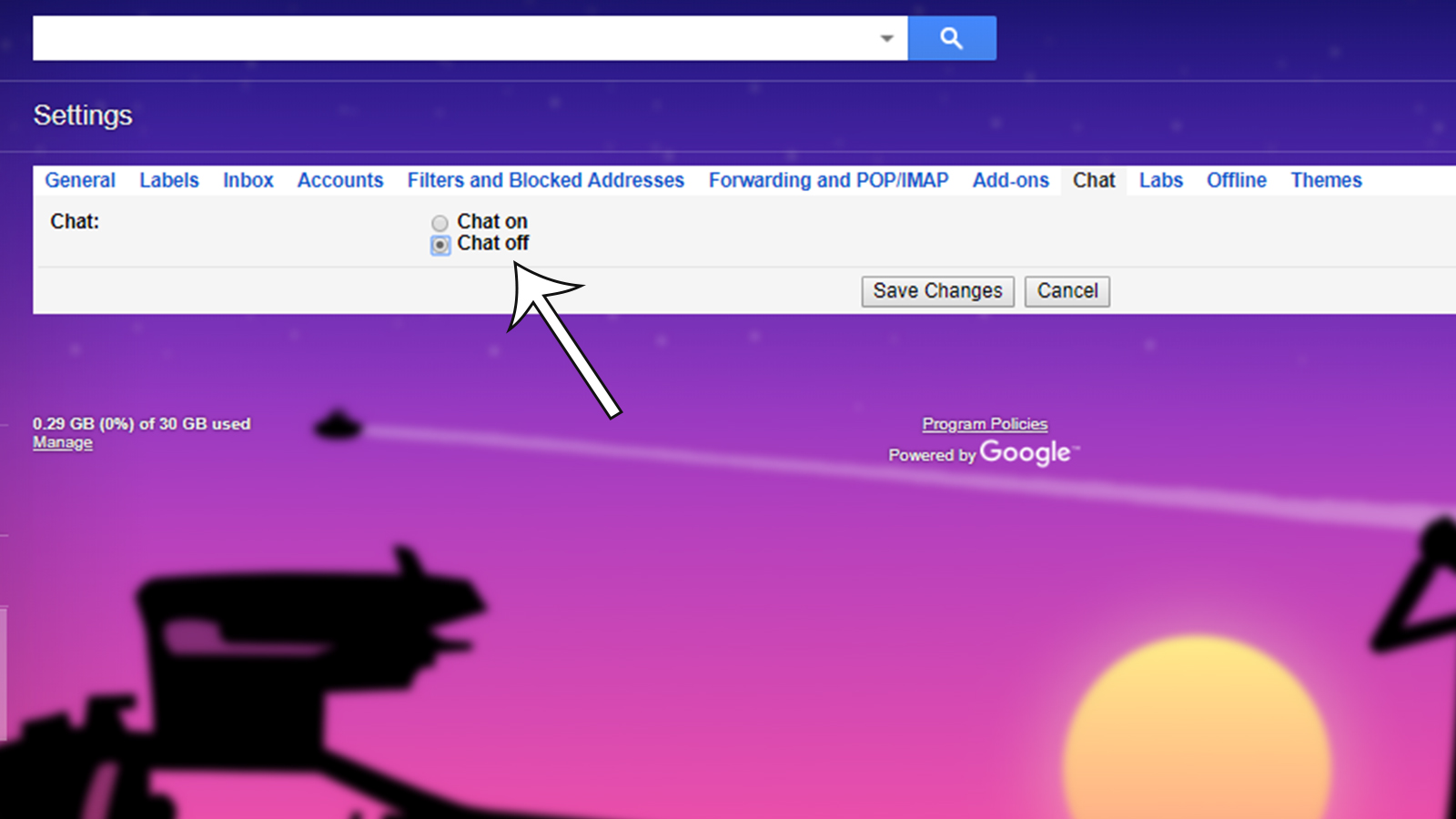 - chat off - Gmail features you should disable right now, bonus tips included