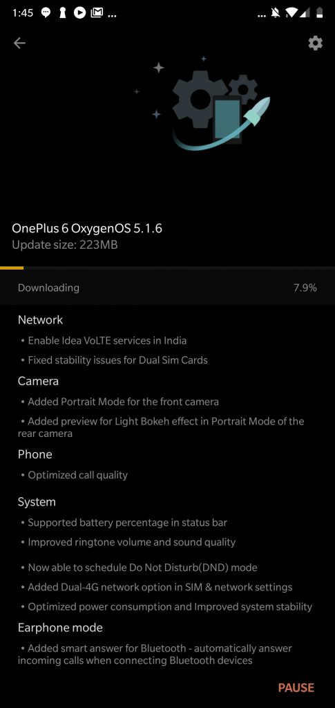 - 2753279583836813071 485x1024 - OnePlus 6 gets Selfie Camera Portrait Mode and more with OxygenOS 5.1.6 Update