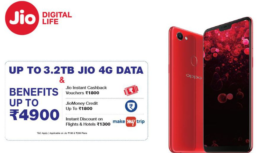 Jio Oppo Monsoon Offer