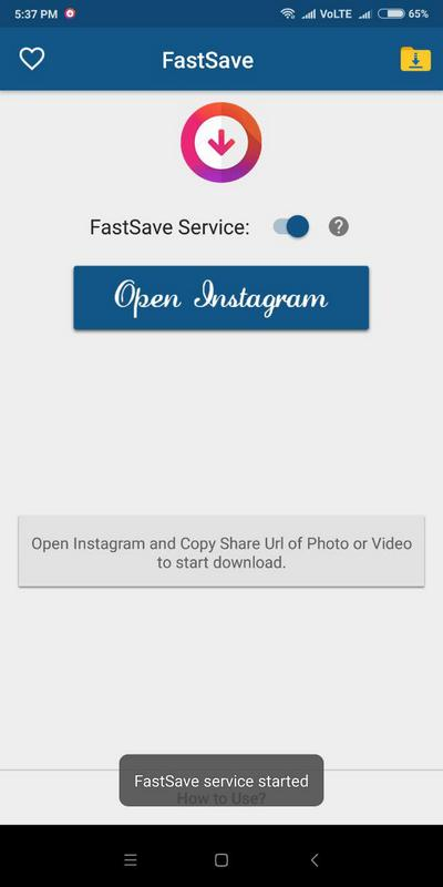 Instagram FastSave