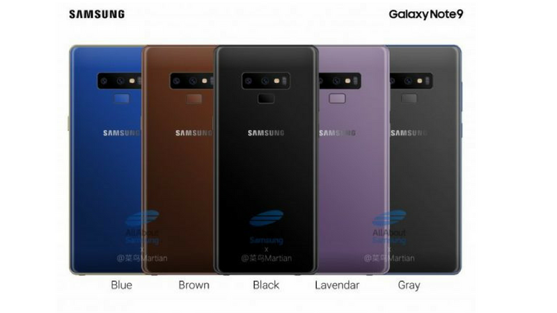 Samsung Galaxy Note 9 Has Been Spotted Again In Live Images This Time As Reported By SamMobile The Front And Back Of Smartphone Have Revealed