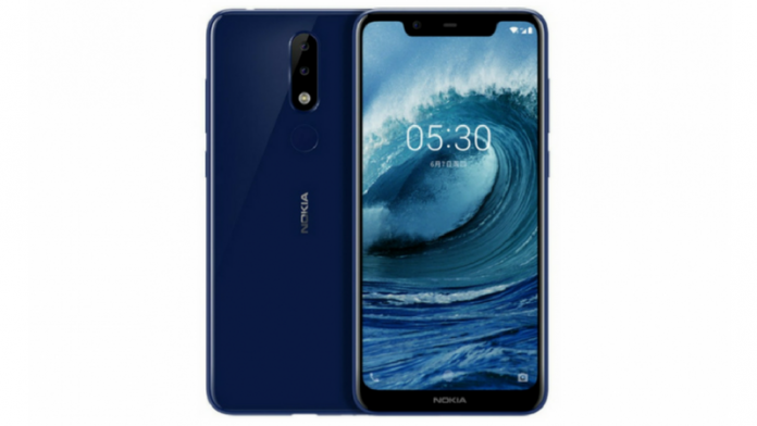 - Nokia X5 696x392 - Nokia X5 with Notch Display, AI Dual Cameras Launched: Price, Specifications