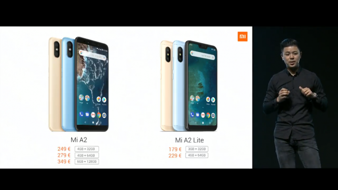 Xiaomi Mi A2 and Mi A2 Lite: Price, availability, and release date