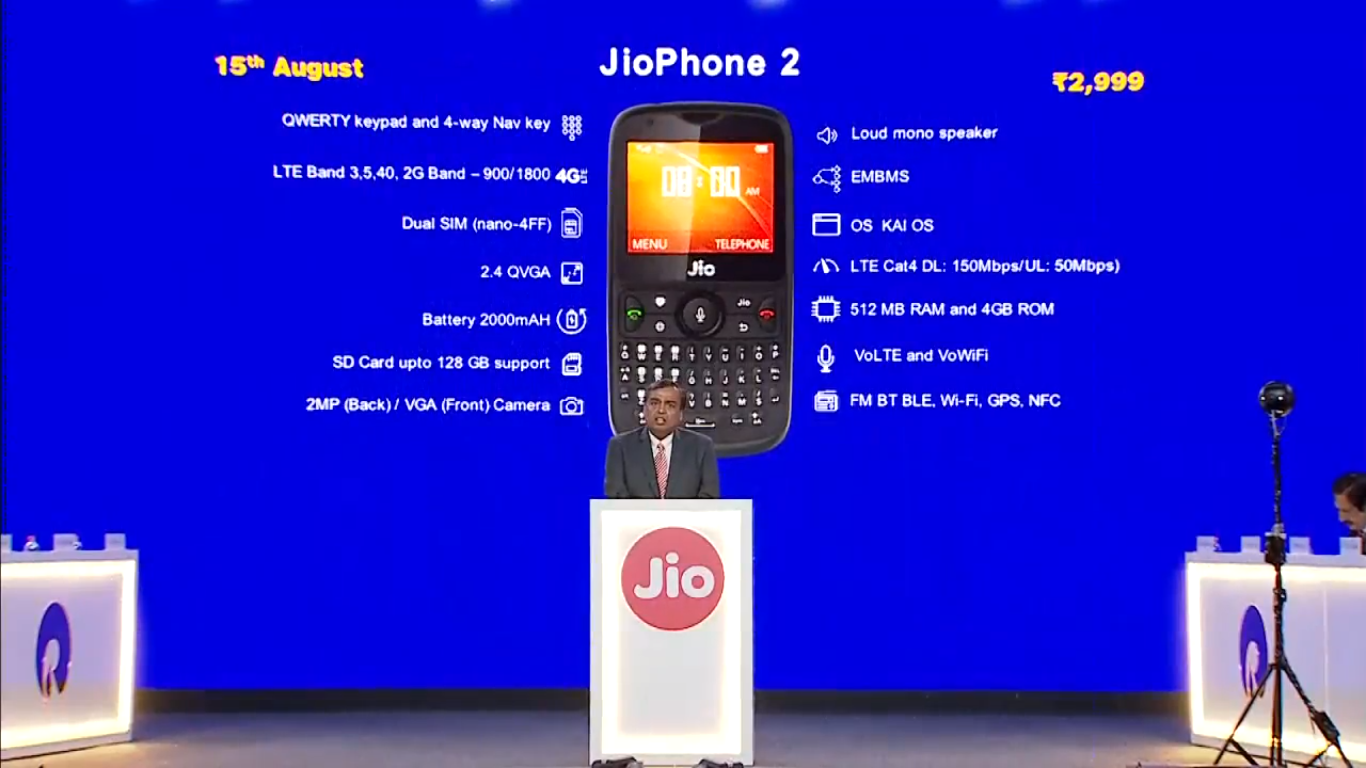 Reliance JioPhone 2 Vs JioPhone: What's new in the latest