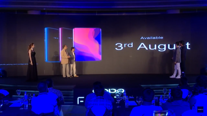 Oppo Find X launched in India: Specifications, Features, Price, and more