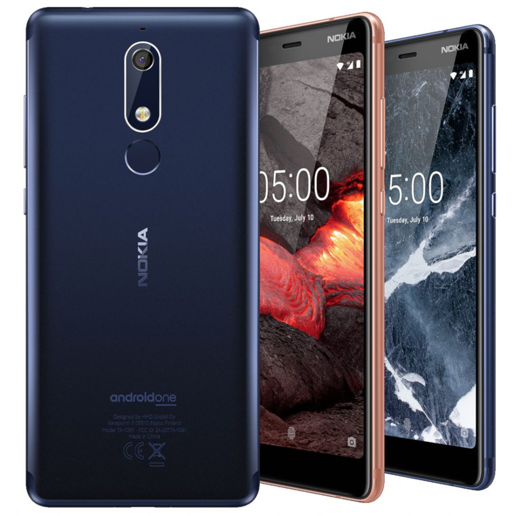 - Nokia 5 - Nokia 2.1, Nokia 3.1 (3GB) and Nokia 5.1 Launched in India: Price, Specifications