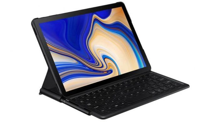 Galaxy Tab S4  - ezgif - Samsung Galaxy Tab S4 and Galaxy Tab A 10.5 Launched with Massive Battery