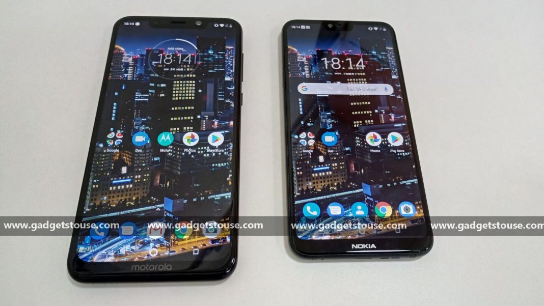 motorola one power vs nokia 6.1 plus