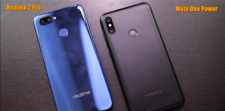 Realme 2 Pro Vs Motorola One Power