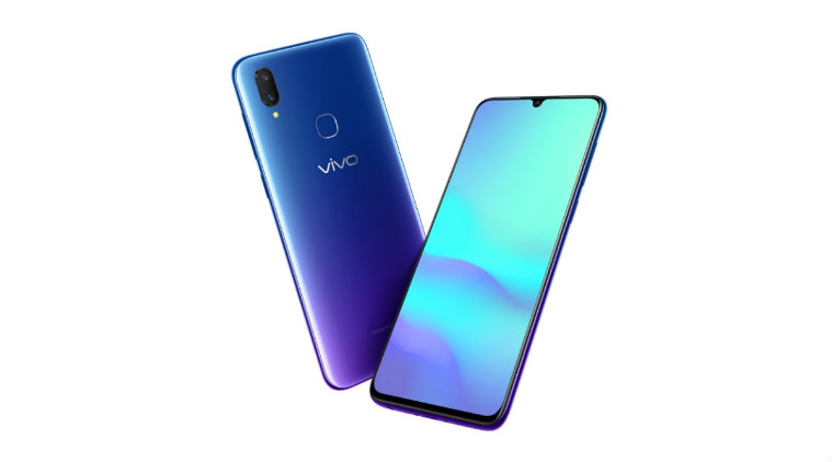 - Vivo V11 Helio P60 - Vivo V11 with Waterdrop Notch Launched in India for Rs. 22,990: Specifications, Features