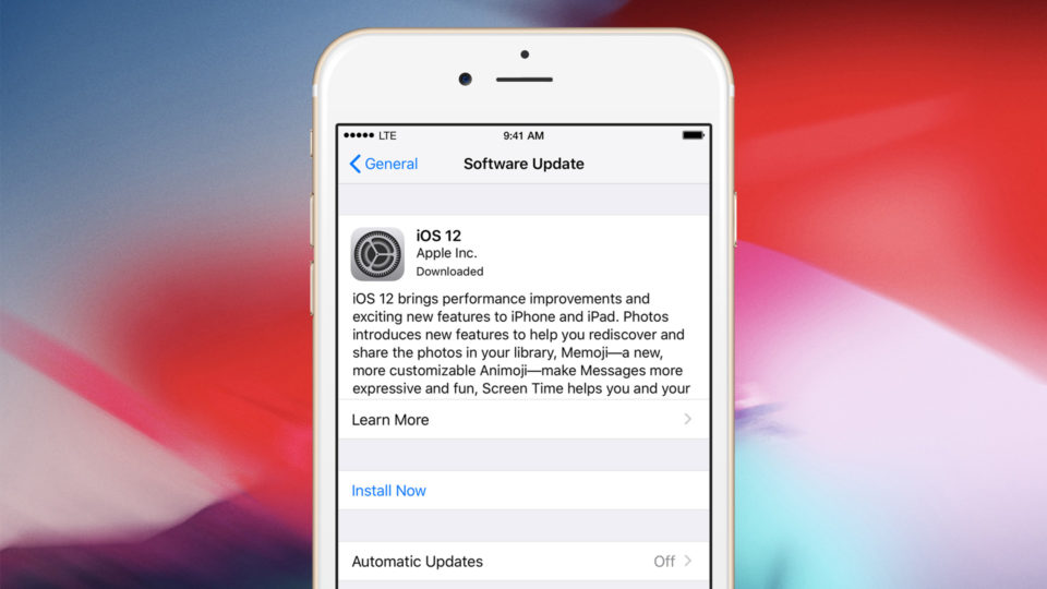 how to get ios update