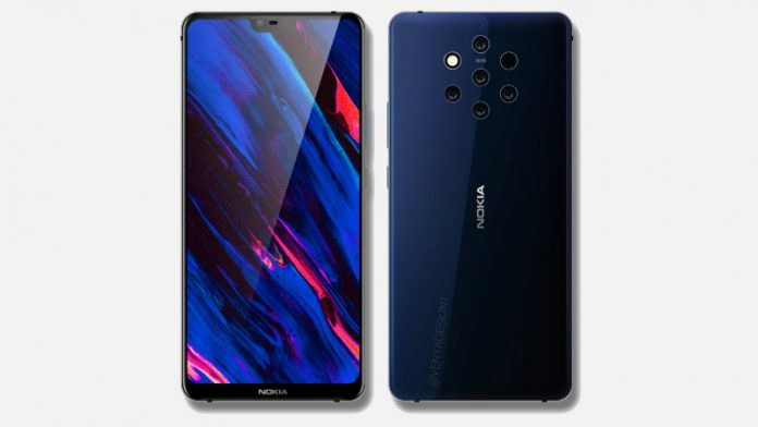 Nokia 9 image leaked, shows five rear cameras