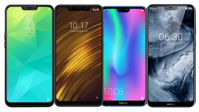 Notch Display Phones Under Rs  20,000 in India - Gadgets To Use