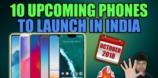 upcoming smartphones octoer