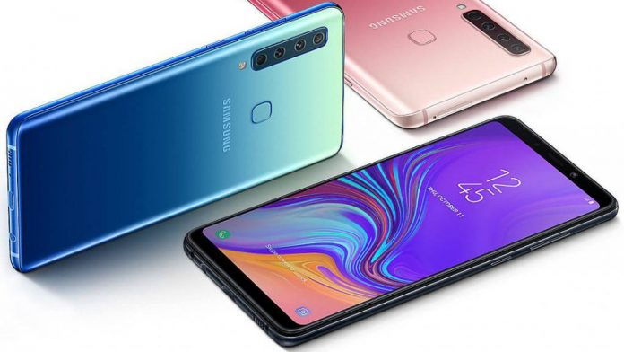 - Samsung Galaxy A9 2018 1024x603 696x392 - Samsung Galaxy A9 (2018) Launched; First phone with four rear cameras