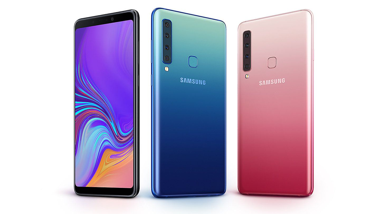 The First Phone With Four Rear Cameras Samsung Galaxy A9