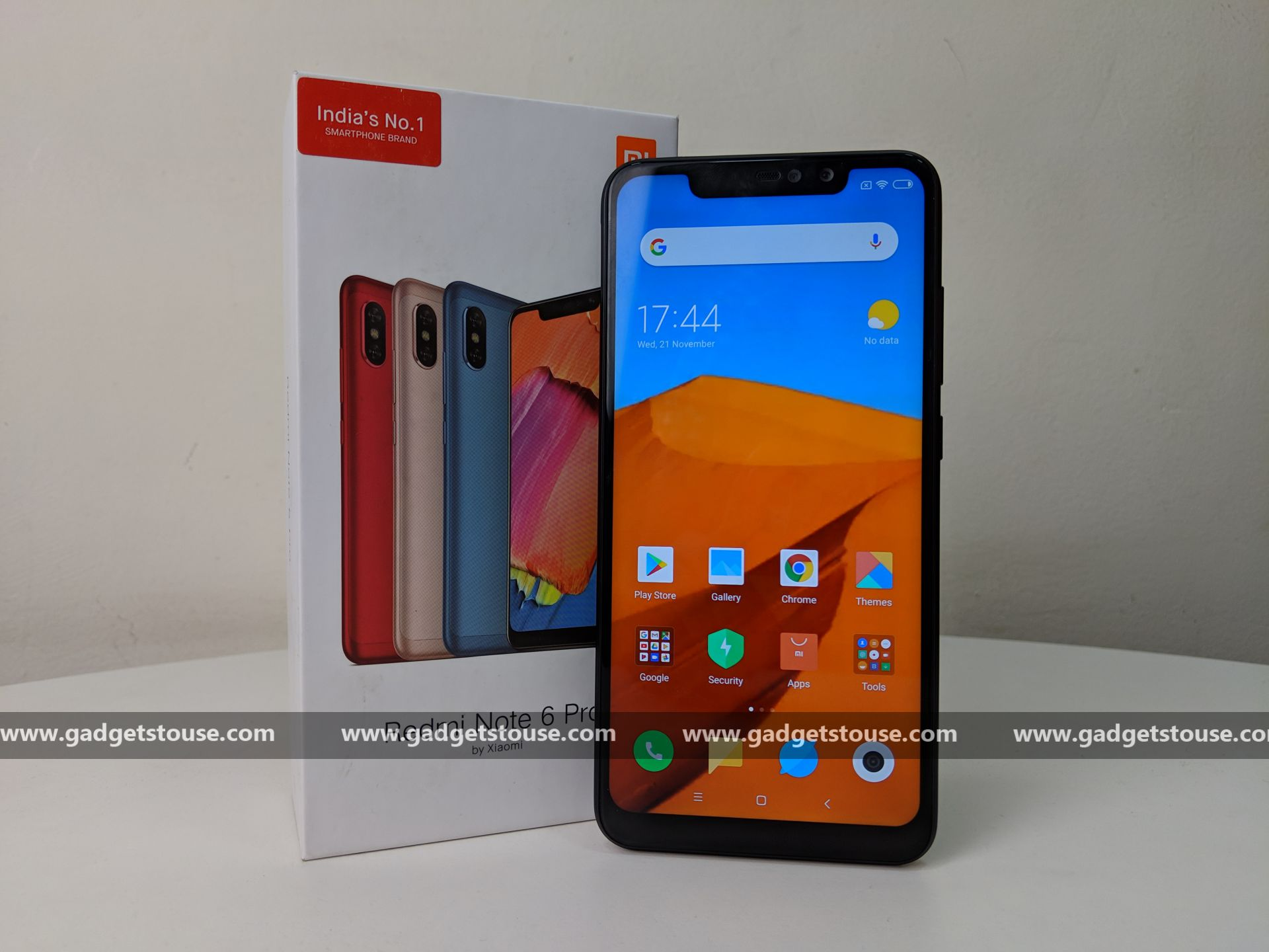 c81a830af45 The Redmi Note 6 Pro sports a dual rear camera setup with a 12MP primary  camera with f 1.9 aperture