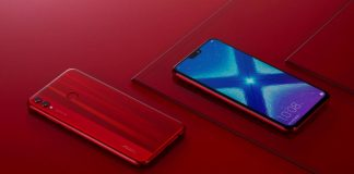 Honor 8X Red Edition