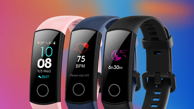 - Untitled design 1 1 - Honor Band 4 with AMOLED color display, water resistance launched in India for Rs. 2,599