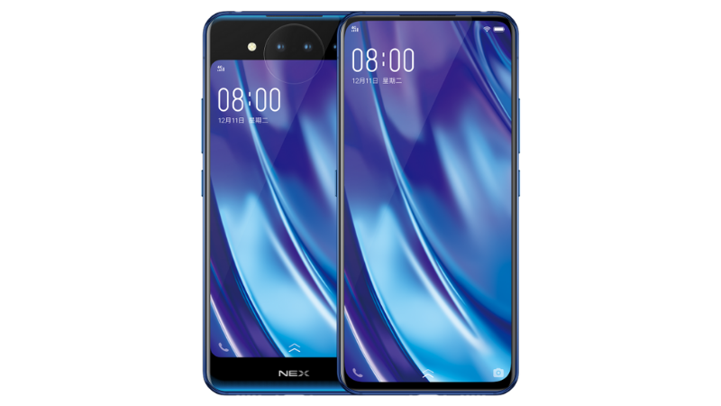 Vivo NEX Dual Screen smartphone launched with 10GB RAM ...