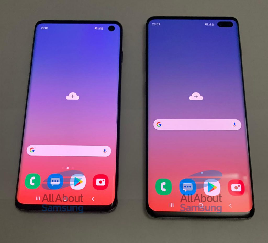 - Galaxy S10 Live Image 6 1024x928 - Samsung Galaxy S10, Galaxy S10+ live images show Infinity O display, triple rear cameras and more