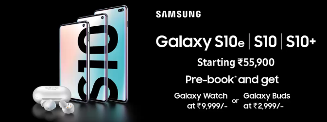- Capture 3 - Samsung Galaxy S10, Galaxy S10+ and Galaxy S10e prices in India, launch offers