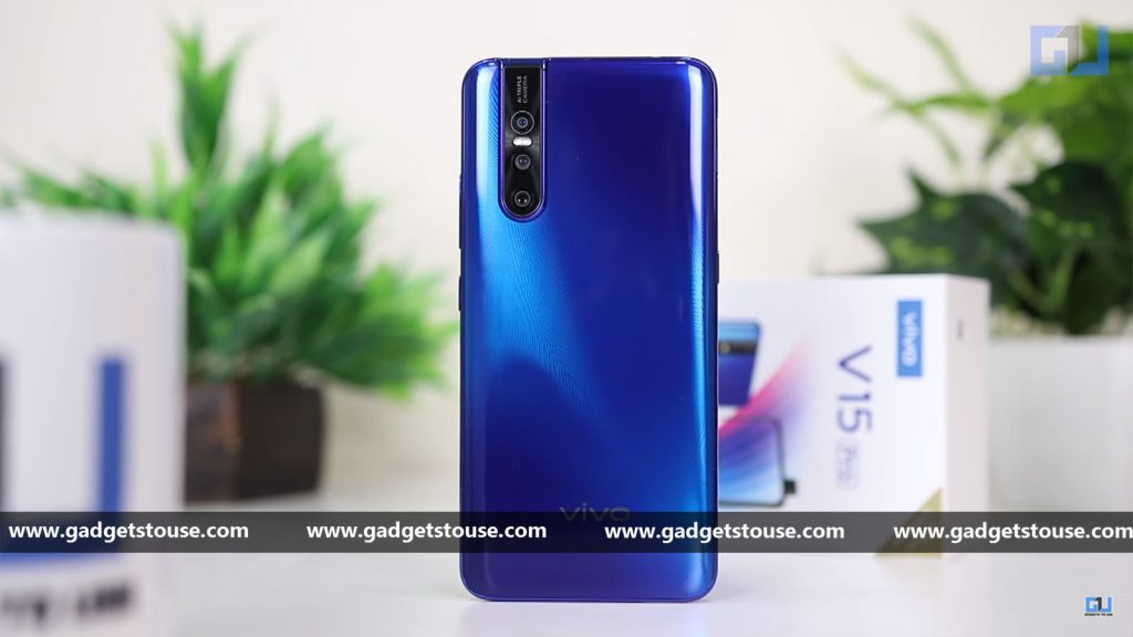 Vivo V15 Pro Hands-on: Vivo's pop-up camera still in fashion