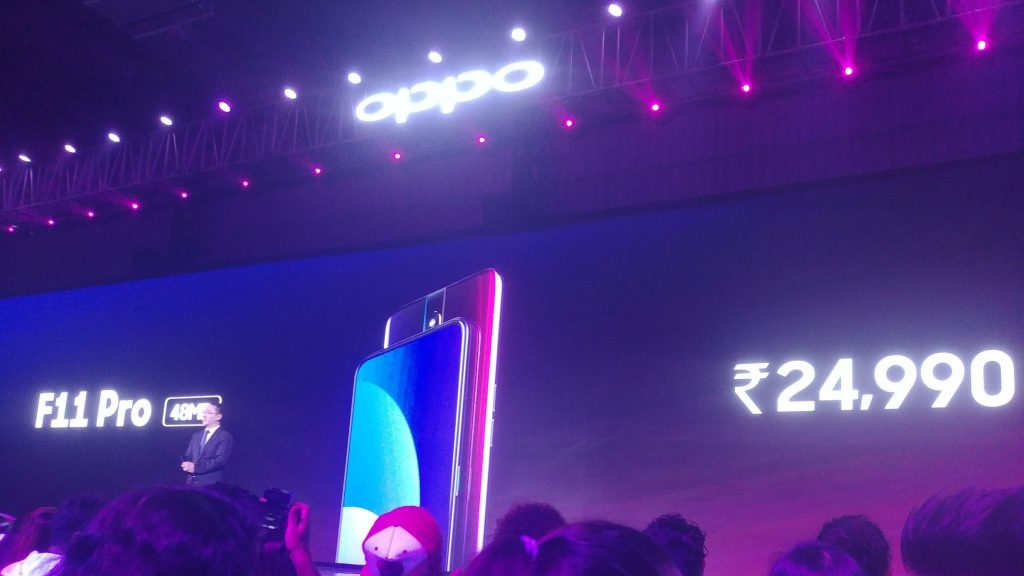 - D05tyKnWoAEtt0o 1024x576 - OPPO F11 Pro launched in India: Price, specifications