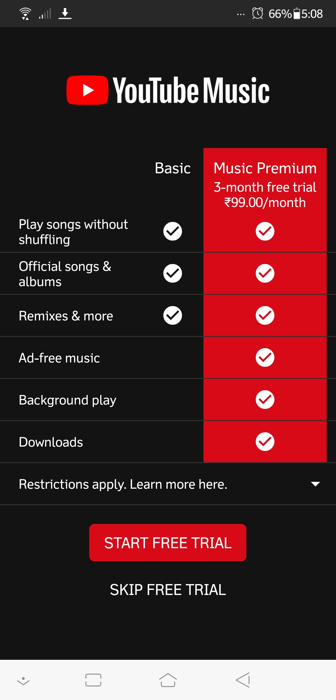 YouTube Music App Released in India: Download Your Favorite Music