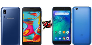 galaxy a2 core vs redmi go