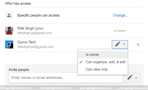 Transfer Files From One Google Drive Account to Another