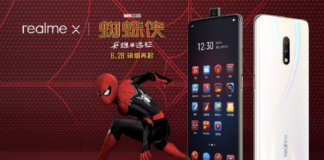 Realme X Spider-Man: Far From Home Special Edition