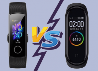Xiaomi Mi Band 4 Vs Honor Band 5