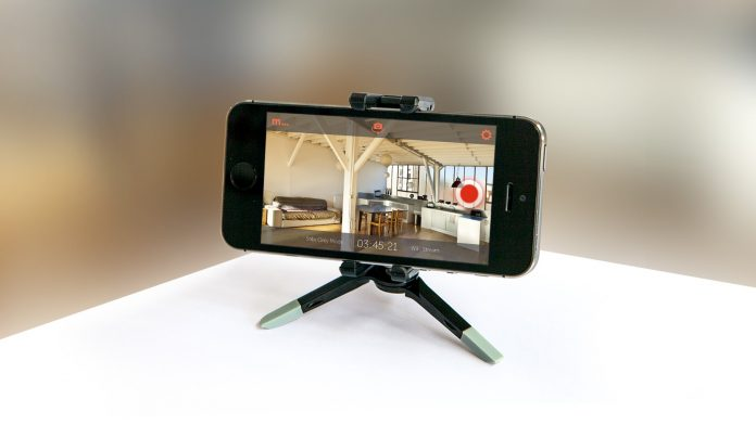 Smartphone as Home Security Camera