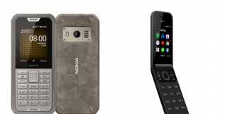 Nokia 800 Tough 2720 Flip