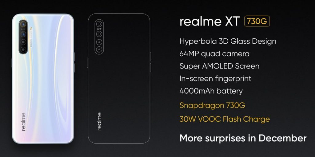 Realme-XT730G-1024x511 Realme XT 730G with Snapdragon 730G, 30W VOOC Cost Launching in India in December