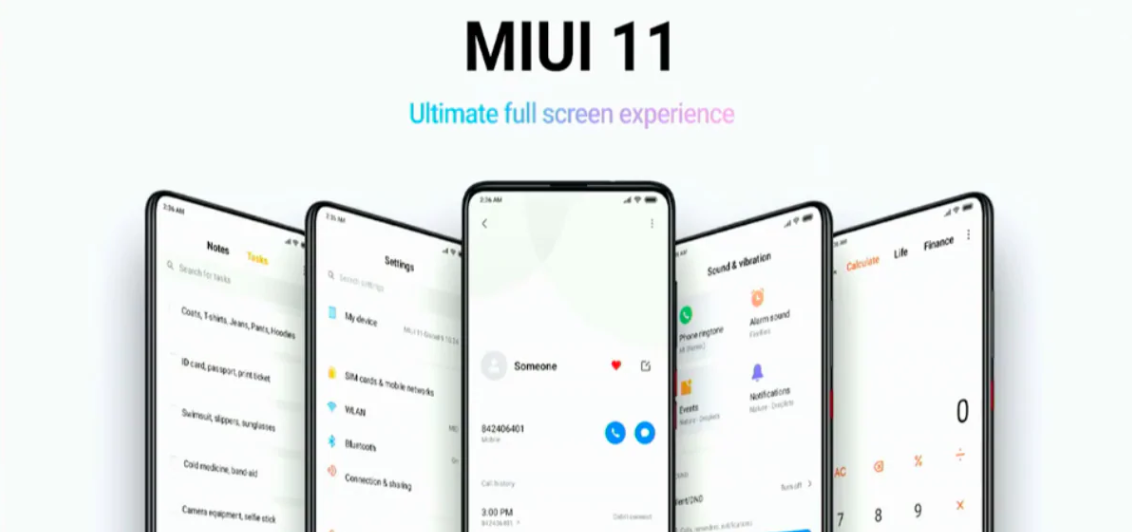 Xiaomi Announced MIUI 11: Top 5 Features Coming to Your Phones