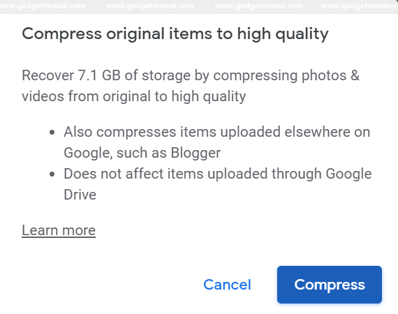 How to get unlimited storage on Google Photos