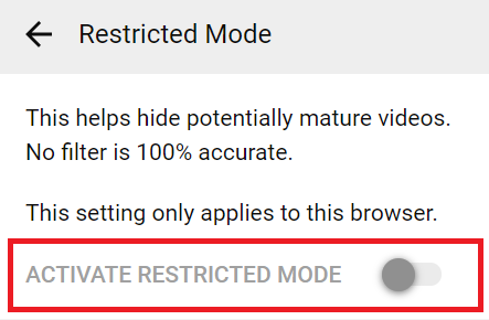 What Is YouTube Restricted Mode and How to Activate It