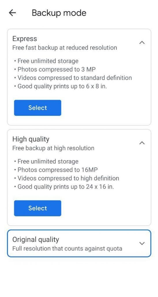 How to free up google photos cloud storage
