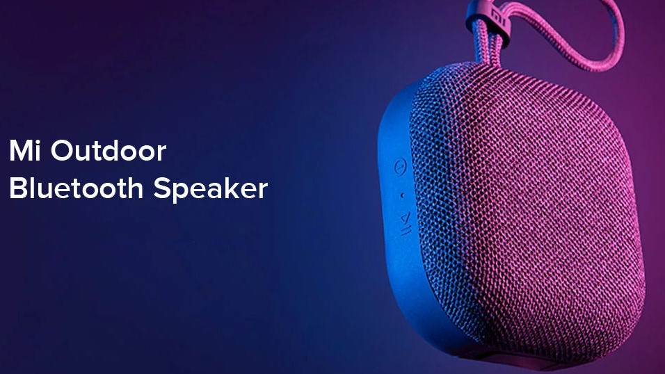 Xiaomi Mi Outdoor Bluetooth Speaker Launched in India for Rs. 1,399; Check Features - gadgets to use