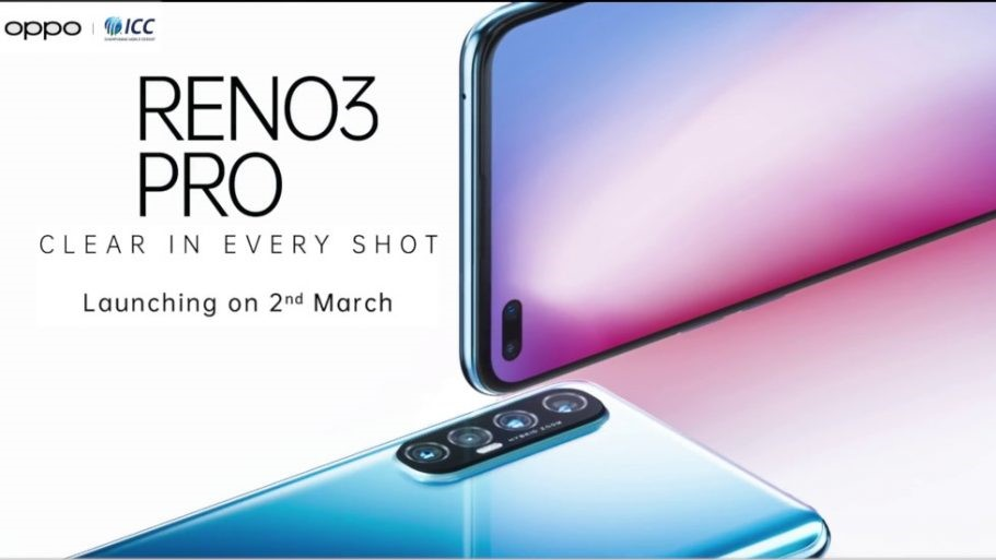 OPPO Reno3 Pro: World's First Phone with 44MP Dual Punch-hole Camera Launching in India on March 2