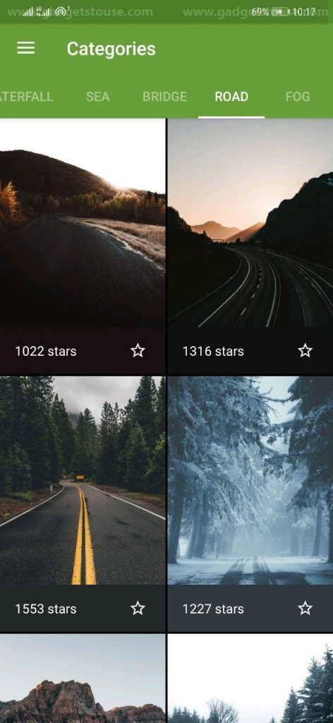 Ad-free Wallpaper Apps for Android- Wonderwall