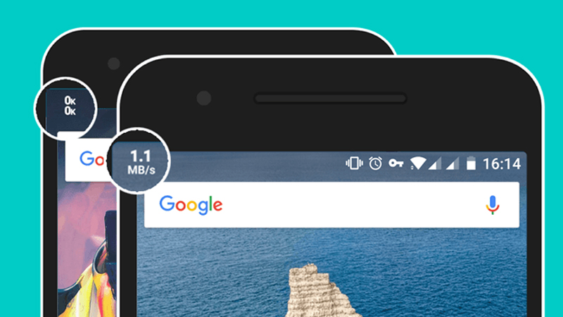 How to Show Upload Download Speed on Status Bar on Android - gadgets to use